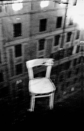 Machiel Botman, Chair, Genova 2004, Gelatin silver print