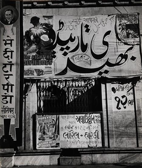 Ferenc Berko, Indian Cinema Advertising 1938-40, Vintage gelatin silver print