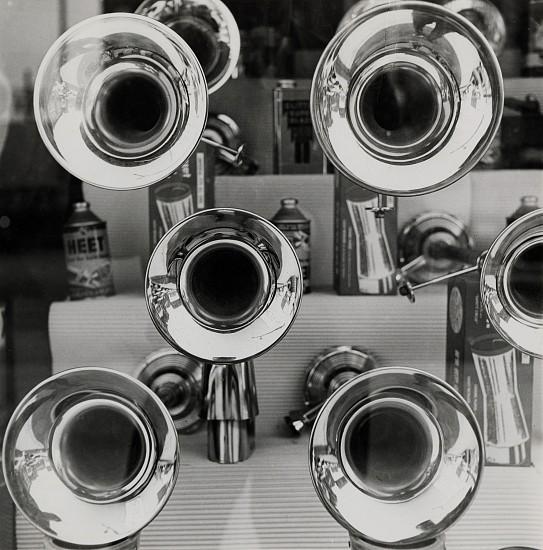 Ferenc Berko, Car Spare Part Store, Chicago 1947-48, Vintage gelatin silver print