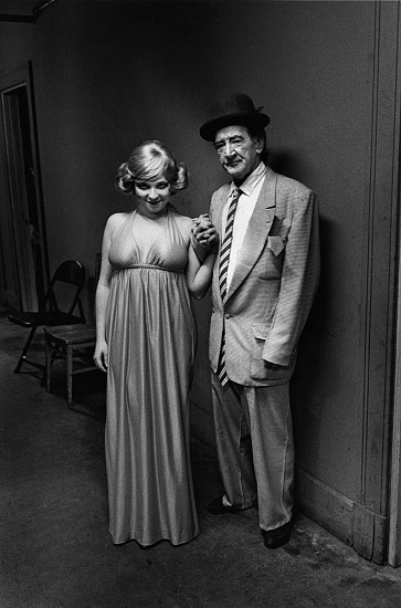 Roswell Angier, Mr. and Mrs. Steve Mills, Pilgrim Theater 1973, Vintage gelatin silver print