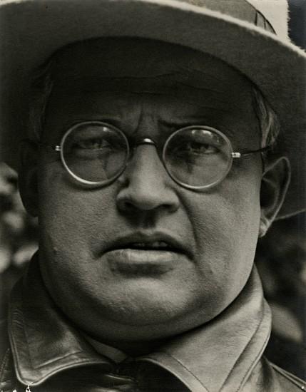 Josef Breitenbach, Richard Revy, Actor, Munich 1932, Vintage gelatin silver print