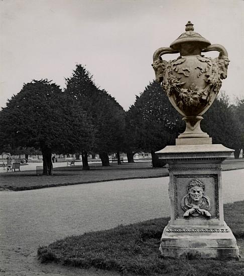 Josef Breitenbach, Luxembourg Garden, Paris c. 1935, Vintage toned gelatin silver print
