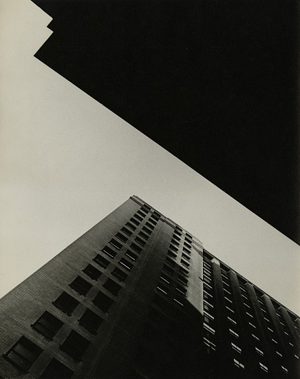 Gita Lenz, Building Abstraction late 1940s - 1950s, Vintage gelatin silver print
