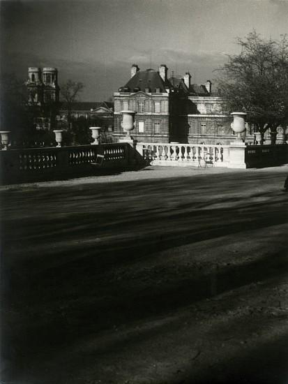 Josef Breitenbach, Luxembourg Gardens 1933-1939, Vintage gelatin silver print