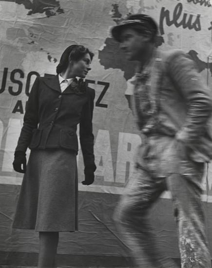 Jean Moral, Mode 1939, Vintage gelatin silver print