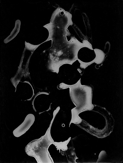 Roger Catherineau, Photogramme 1956, Vintage gelatin silver print